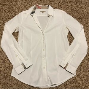 Burberry London Nova Check Dress Shirt Size S